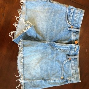 Banana Republic jean shorts size 27